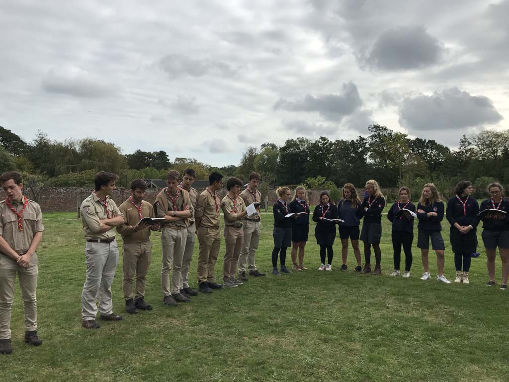 Rasso aines scouts guides